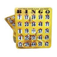 Quick Clear Bingo Cards (pack of 25)