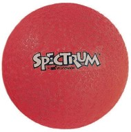 "6"" Spectrum Playground Ball, Red"