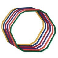 "12-Sided Agility Rings, 32"" (set of 6)"