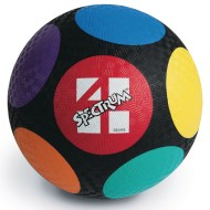 Spectrum™ Circles 4 Square Ball, 10""