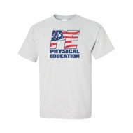 Stars and Stripes Patriotic PE T-Shirt