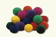 "4"" Spectrum™ Fleece Ball"
