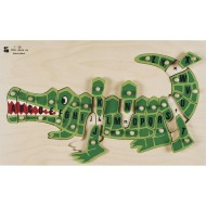 Alphabet Alligator Puzzle