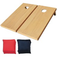 Official Wooden Cornhole Game Set