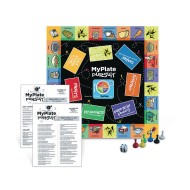 My Plate Pursuit Board Game Junior