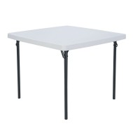 "Lifetime Commercial 37"" Square Table"