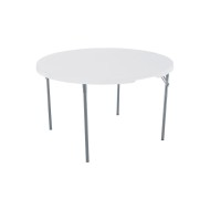 "Lifetime 48"" Round Folding Table"