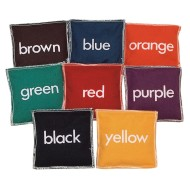 Color Beanbags (set of 8)