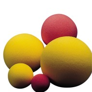 "8-1/2"" Uncoated Foam Ball"