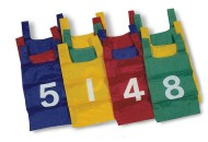 Nylon Numbered Pinnies (dozen)