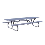 Aluminum Picnic Table, 8