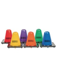 "6"" Spectrum™ Poly Cones (set of 6)"