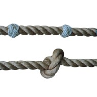 Beginner Knot for Climbing Rope