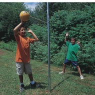 Portable Tetherball Pole