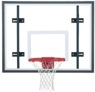Side Court Glass Backboard System