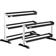"York® Tiered Dumbbell Rack, 56""L x 23""W x 29""H"