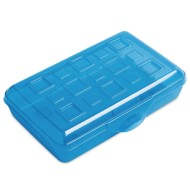 Sterilite® Stackable Pencil Boxes With Snapping Lid Value Pack (pack of 12)