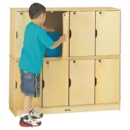 Double Stack Lockers