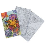 Journals to Color, Large (pack of 12)