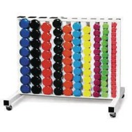 Vinyl Dumbbell Rack Pack