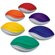 "Spectrum™ 7-1/2"" Spiral Foam Football Set (set of 6)"