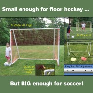 Large Folding Telescopic Goal
