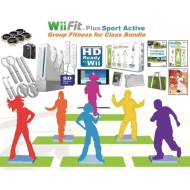 Wii Fit™ Plus Sport Active Group Fitness Bundle
