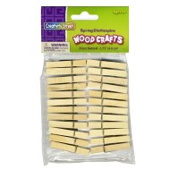 Spring Clothespins 1-3/4IN (pack of 24)