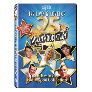 Lives and Loves of 25 Hollywood Stars DVD Set (set of 6)