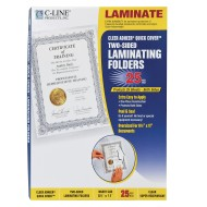 Cleer Adheer® Super Heavyweight Laminating Folders (box of 25)