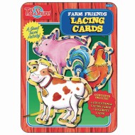 Farm Family Lacing Cards