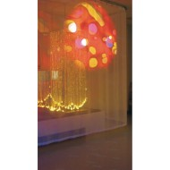 Visual Sensory Projection Curtain