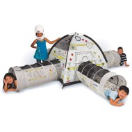 Space Station Play Tent And 4 Crawl Tunnels Combo
