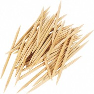 Round Toothpicks 250-Count (pack of 12)