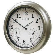 "Equity 18"" Indoor/Outdoor Wall Clock"