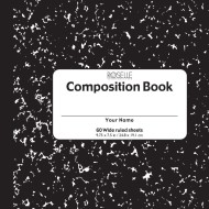 Hard Cover Composition Book