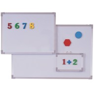"Magnetic Dry-Erase Board, 18""x24"""