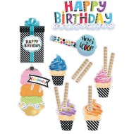 Bold And Bright Birthday Bulletin Board Set