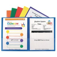 School To Home Folders (pack of 6)