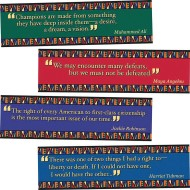 Black American Quotes Bulletin Board Set (set of 8)