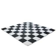 Jumbo Fabric Checkers & Chess Board