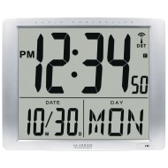 Jumbo Digits Atomic Wall Clock