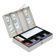 MMF Industries™ Steelmaster® Cash Box With Combination Lock