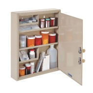 MMF Industries™ Steelmaster® Large Medical Security Cabinet