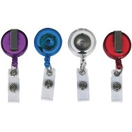 Retractable ID Badge Reel Pack (pack of 4)