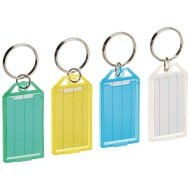 Steelmaster® Multi Colored Replacement Key Tags (pack of 4)
