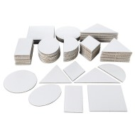 Corru-Shapes Corrugated Pieces (pack of 140)