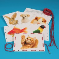 Jumbo Lacing Cards (set of 6)