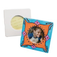 Color-Me™ Ceramic Bisque Square Frame (makes 24)