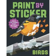 PAINT BY STICKER BOOK BIRDS